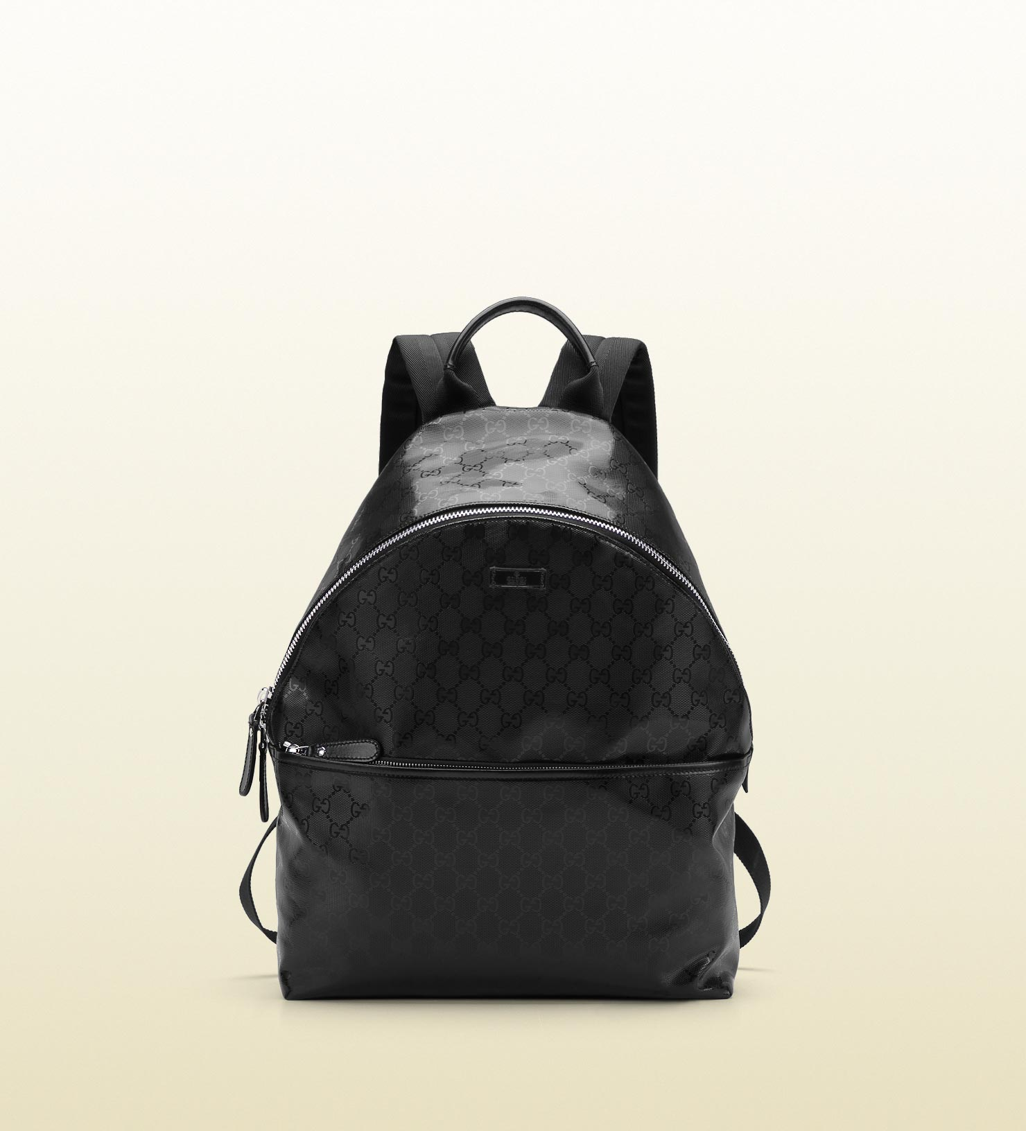 a1f5e360d8399f Gucci Gg Imprime Zip Backpack in Black for Men - Lyst