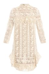 Isabel Marant Inny Guipure Lace Dress - Lyst