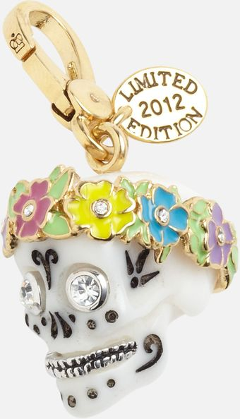 Juicy Couture Sugar Skull Charm - Lyst