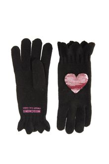 Moschino Cheap & Chic Sequin Heart Gloves - Lyst