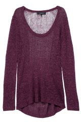 Rag & Bone Bridget Pullover in Purple (burgundy) - Lyst