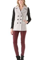 Rebecca Minkoff Jamison Coat with Fur
