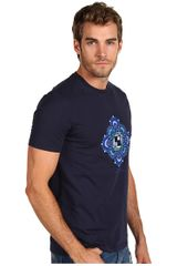 Versace Tshirt  in Blue for Men (b) - Lyst