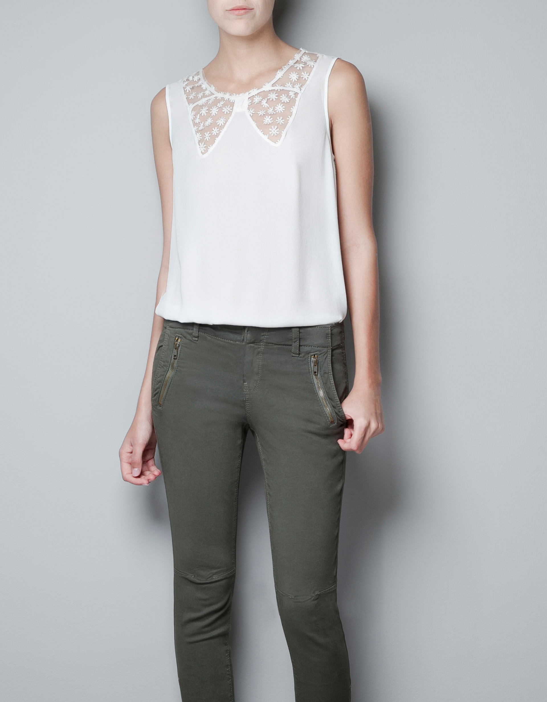 Zara Lace Blouse 11