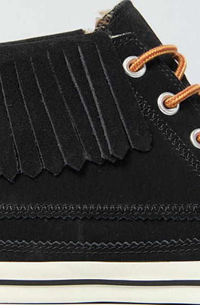 Converse The Chuck Taylor All Star Moccasin Fringe Boot In