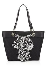 DKNY Town Country Scarf Shopper - Lyst