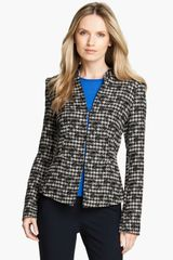 Lafayette 148 New York Prolific Houndstooth Macie Jacket - Lyst