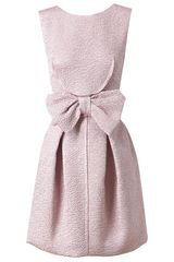Nina Ricci Silkblend Cloque Dress