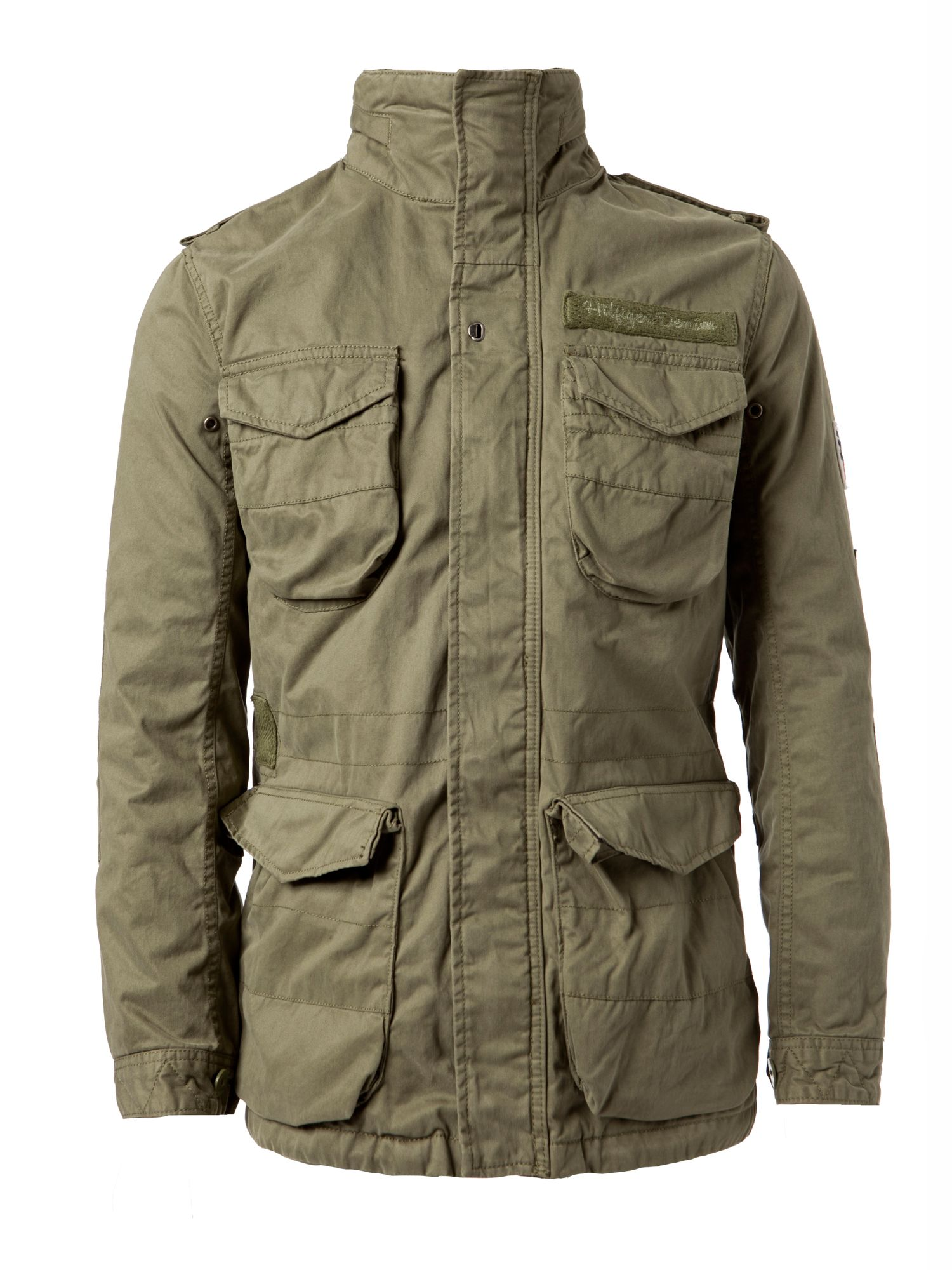 tommy hilfiger povato jacket in green for men lyst. Black Bedroom Furniture Sets. Home Design Ideas