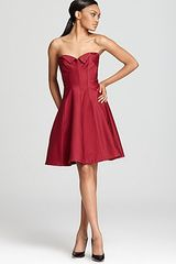 Z Spoke by Zac Posen Strapless Dress Ottoman - Lyst