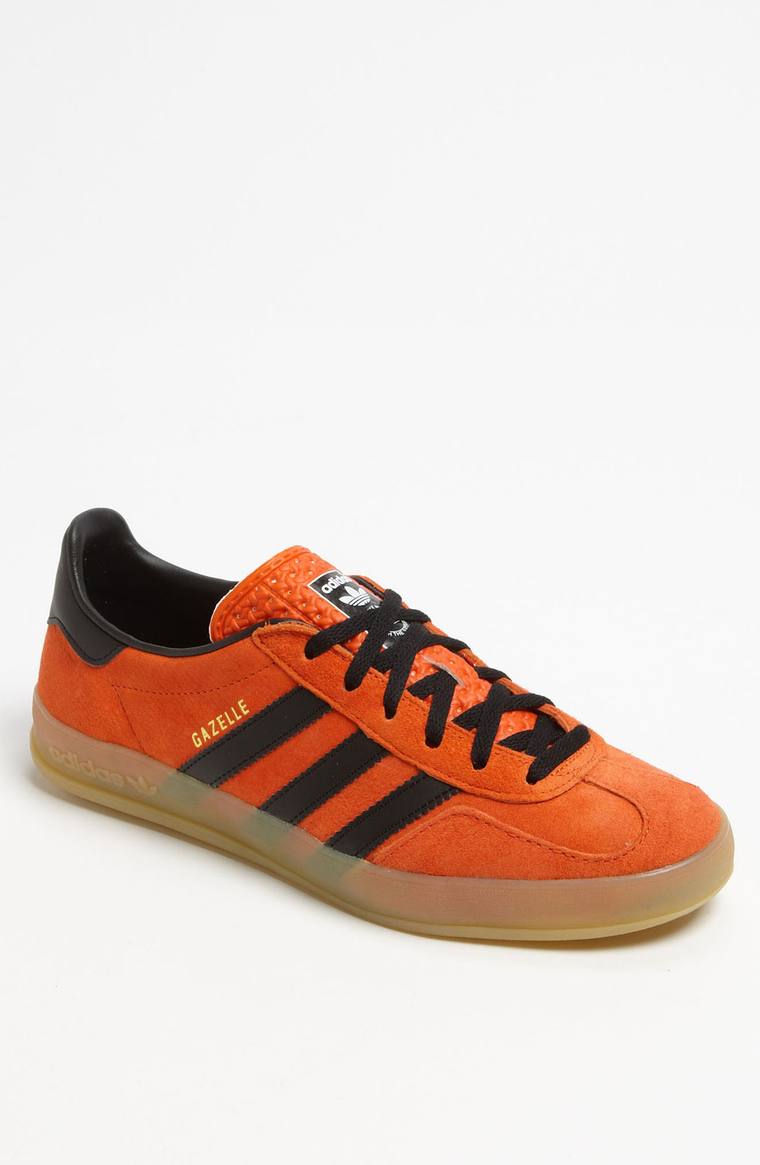 adidas gazelle premium sneaker in orange for men lyst. Black Bedroom Furniture Sets. Home Design Ideas