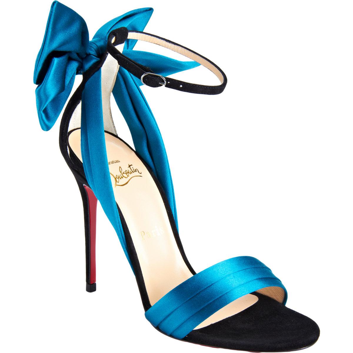 new product 2c3a5 866df Shoeniverse: Louboutin Week - CHRISTIAN LOUBOUTIN Blue ...