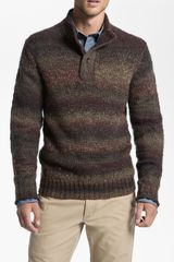 Hickey Freeman Mock Neck Sweater - Lyst