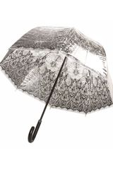 Jean Paul Gaultier Transparent Lace Print Umbrella in Transparent - Lyst