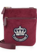 Juicy Couture Velour Crossbody Bag - Lyst