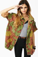 Nasty Gal Up in Army Camo Jacket - Lyst