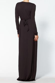 Rachel Pally Long Sleeve Full Length Caftan Dress - Lyst