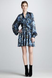 Rachel Zoe Bishop Sleeve Dress - Lyst