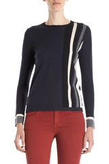 Rag & Bone Racing Stripe Sweater - Lyst