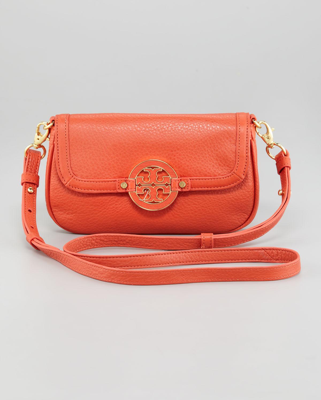 f95c6cf156 Lyst - Tory Burch Amanda Crossbody Bag in Orange