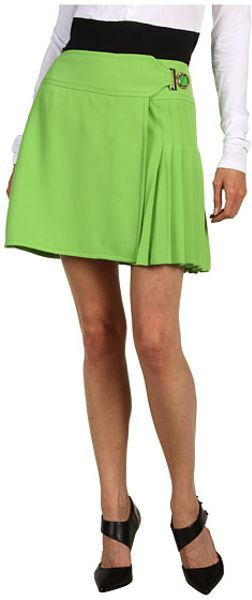 Versace Skirt in Green (a) - Lyst