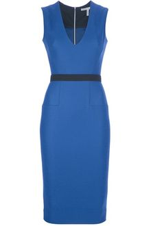Victoria Beckham Sleeveless Dress - Lyst