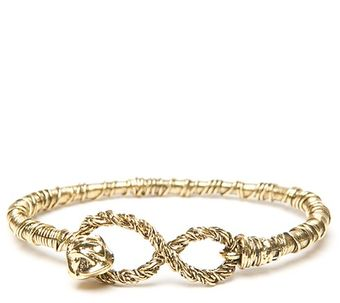 Aurelie Bidermann Golden Thread Bracelet - Lyst