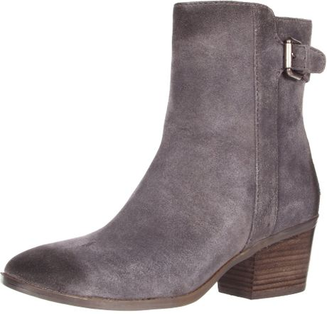 nine west nine west womens fletch ankle boot in gray grey