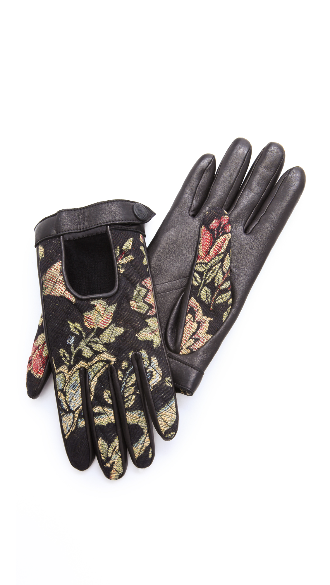 Quilted leather driving gloves -  Quilted Driving Gloves Lyst View Fullscreen