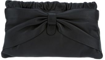 RED Valentino Bow Clutch - Lyst