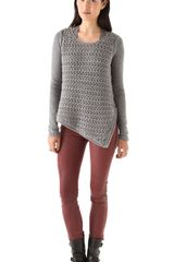 Helmut Lang Open Knit Sweater - Lyst
