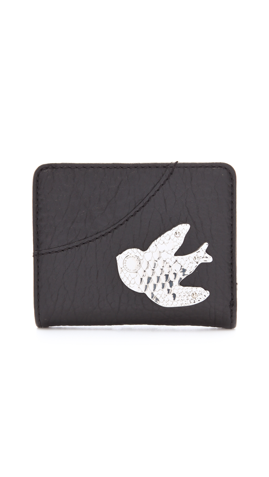 5b0f391c075 Lyst - Marc By Marc Jacobs Petal To The Metal Wallet in Black