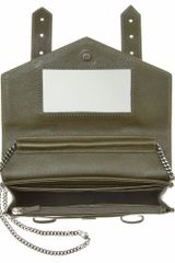 Proenza Schouler Ps1 Large Chain Shoulder Bag in Gray (khaki) - Lyst