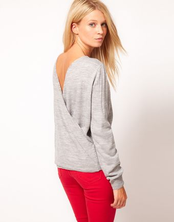 ASOS Collection Asos Cross Back Jumper - Lyst