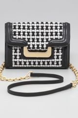 Diane Von Furstenberg New Harper Charlie Check Shoulder Bag - Lyst