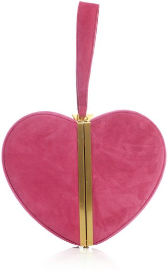 Diane Von Furstenberg Heart Box Clutch Bag - Lyst