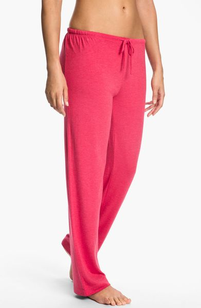 Dkny 7 Easy Pieces Pants in Purple (red delicious heather) - Lyst