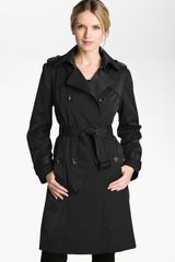 London Fog Double Breasted Rain Trench Coat - Lyst