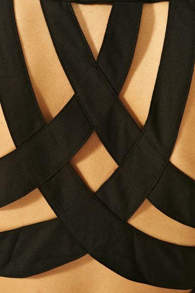 Nasty Gal Tuxedo Dress In Black Lyst