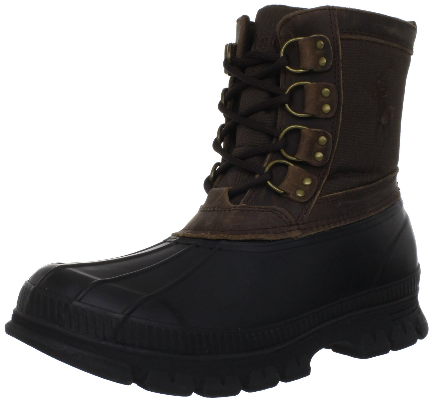 polo ralph crestwick boot in brown for