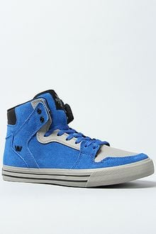 Supra The Vaider Sneaker in Royal Suede Grey - Lyst