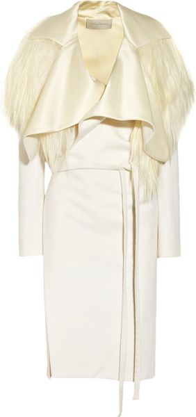 Esteban Cortazar Goat Hair and Wool-Blend Coat - Lyst