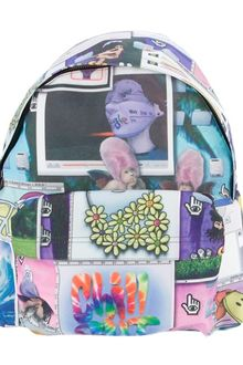 Jeremy Scott Collage Print Backpack - Lyst