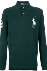 Polo Ralph Lauren Long Sleeve Polo Shirt - Lyst