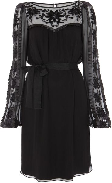 Alice By Temperley Vanessa Dress in Black - Lyst