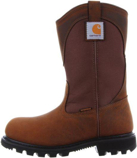 carhartt carhartt womens work boot in brown bison brown