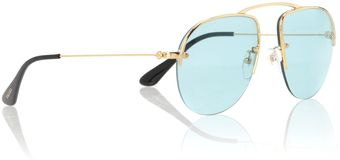 Prada Mens Pr58os Parallel Universes Gold Sunglasses - Lyst