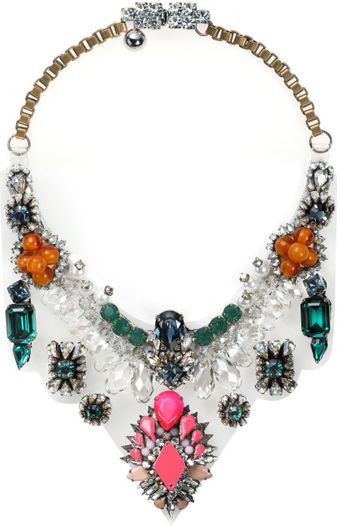 Shourouk Fw Lyubov Necklace - Lyst