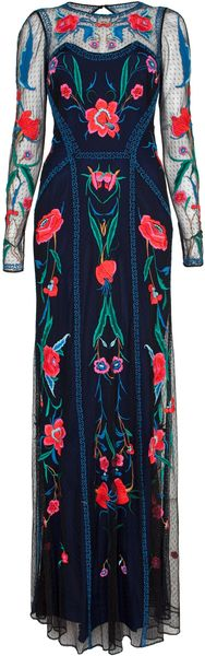 Temperley London Long Eliah Flower Show Dress - Lyst