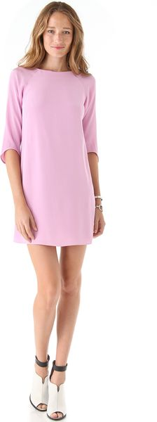 Tibi Shift Dress - Lyst